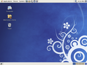Centos with Gnome 3.5 Desktop