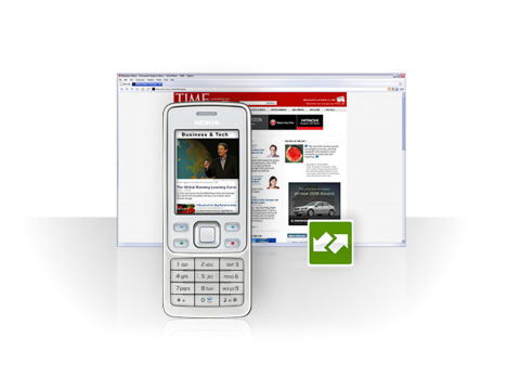 Opera Link Between Browser and Phone