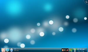 Pardus 2009 with KDE Plasma Desktop